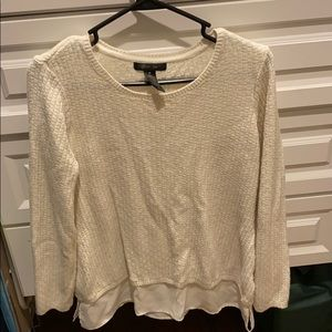 Style & Co white sweater